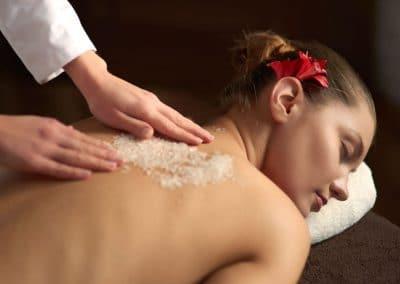 Deep relaxation – Ексфолиация и масажни движения